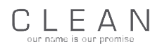 Clean brand logo