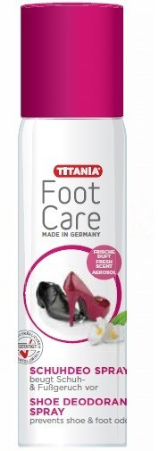 Titania Deodorising Shoe Spray 200ml