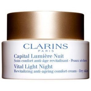 Clarins Vital Light Night Cream til Tør Hud 50ml