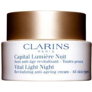 Clarins Vital Light Night Cream til Alle Hudtyper 50ml