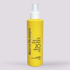 Beaute Pacifique Stay Natural Sun Spray SPF 20 - 200 ml.
