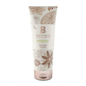 Boutique Body Scrub Mandarin, Basil & Grapefruit 225 gr.