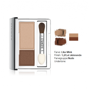 Clinique All About Shadow™ Duo - Like Mink