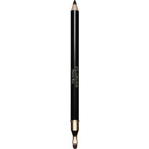 Clarins Crayon Khôl Long Lasting Eye Pencil With Brush 01 Carbon Black 1,05g