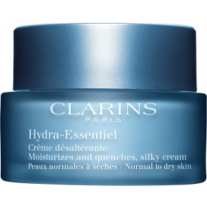 Clarins Hydra-Essentiel Moisturizes and Quenches, Silky Cream Normal to Dry Skin 50ml