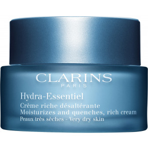 Clarins Hydra-Essentiel Moisturizes and Quenches, Rich Cream Very dry Skin 50ml