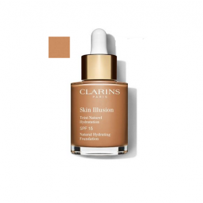 Clarins Skin Illusion SPF 15 Natural Hydrating Foundation 113 Chestnut