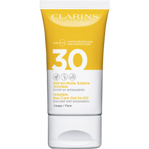 Clarins Sun Face Wrinkle Control Gel Spf30 50 ml.