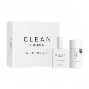Clean for Men White Vetiver Gaveæske