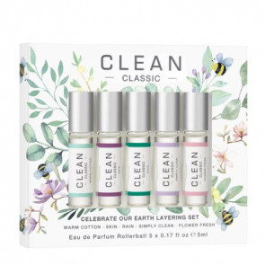 Clean Rollerbal 5 x 5 ml. Celebrate Our Earth Collection