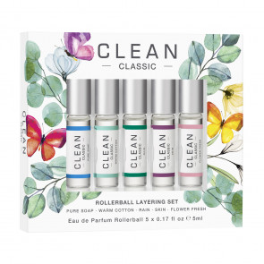 CLEAN Rollerball Layering Collection 5 x 5 ml.