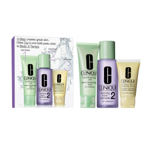 Clinique 3-Step Skin Care Intro Set, Skin Type 2