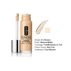 Clinique Beyond Perfecting™ Foundation + Concealer 0.5 Breeze