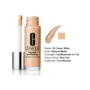 Clinique Beyond Perfecting™ Foundation + Concealer 04 Creamwhip