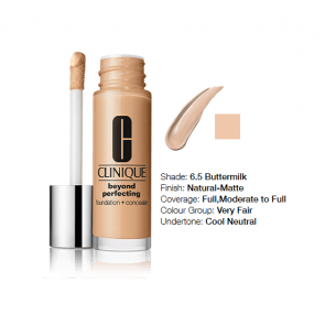 Clinique Beyond Perfecting™ Foundation + Concealer 6.5 Buttermilk