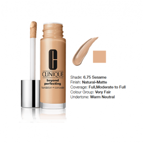 Clinique Beyond Perfecting™ Foundation + Concealer 6.75 Sesame