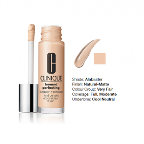 Clinique Beyond Perfecting™ Foundation + Concealer 02 Alabaster