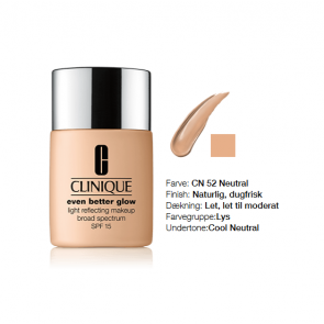 Clinique Even Better Glow™ Light Reflecting Makeup Broad Spectrum SPF 15 - CN 52 Neutral