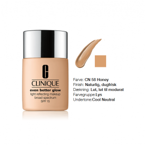Clinique Even Better Glow™ Light Reflecting Makeup Broad Spectrum SPF 15 - CN 58 Honey