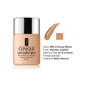 Clinique Even Better Glow™ Light Reflecting Makeup Broad Spectrum SPF 15 - WN 54 Honey Wheat