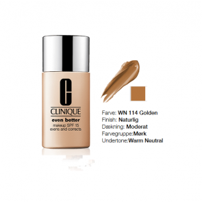 Clinique Even Better™ Makeup Broad Spectrum SPF 15 - WN 114 Golden