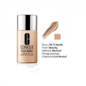Clinique Even Better™ Makeup Broad Spectrum SPF 15 - CN 70 Vanilla