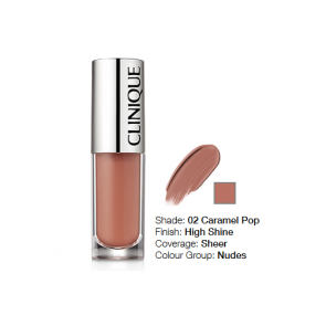 Clinique Pop Splash™ Lip Gloss + Hydration 02 Caramel Pop
