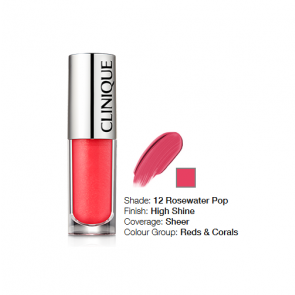 Clinique Pop Splash™ Lip Gloss + Hydration 12 Rosewater Pop