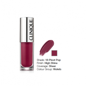 Clinique Pop Splash™ Lip Gloss + Hydration 18 Pinot Pop