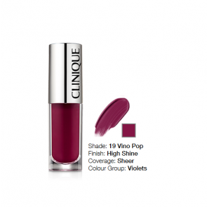 Clinique Pop Splash™ Lip Gloss + Hydration 19 Vino Pop