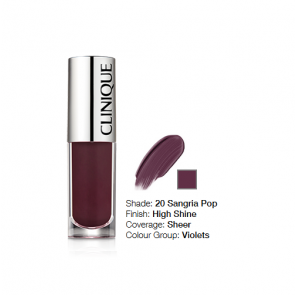 Clinique Pop Splash™ Lip Gloss + Hydration 20 Sangria Pop