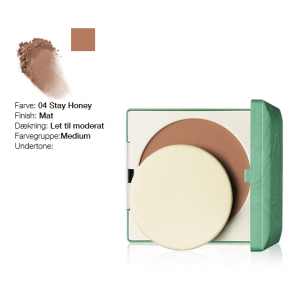Clinique Stay-Matte Sheer Pressed Powder - Stay Honey