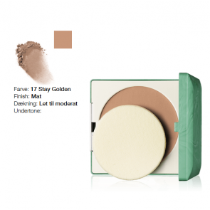Clinique Stay-Matte Sheer Pressed Powder - Stay Golden