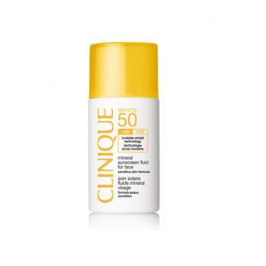 Clinique Sun Care SPF50 Mineral Sunscreen Fluid for Face