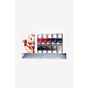 Depend 7Day Nail Polish 10-pack Gaveæske