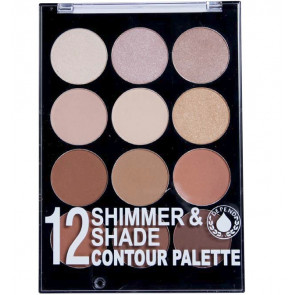 Depend 12 Shimmer & Shade Contourpalette