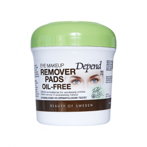 Depend Eye Makeup Remover Pads Oil-Free 4961