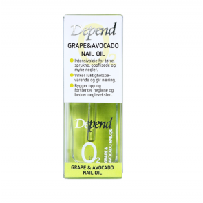 Depend Grape & Avocado Nail Oil