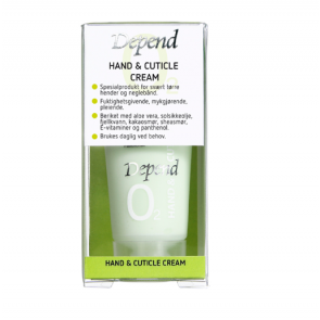 Depend Hand & Cuticle Cream 20ml
