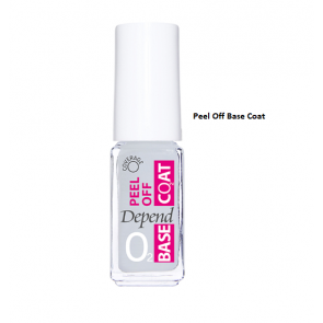 Depend O2 Peel Off Base Coat - 400
