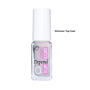 Depend O2 Shimmer Top Coat - 490