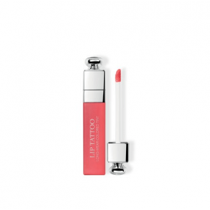 Dior Addict Lip Tattoo Coloured Tint - Bare Lip Senstation & Extreme Weightless Wear 451 Natural Coral