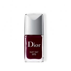 Dior Vernis Conture Colour, Gel Shine, Long Waer Nail Lacquer 970 Nuit 1947