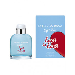 Dolce & Gabbana Light Blue Love is Love Pour Homme Eau de Toilette 75 ml.