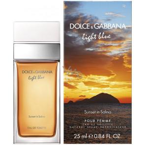 Dolce & Gabbana Light Blue Sunset in Salina Pour Femme Eau de Toilette 25 ml.