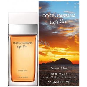 Dolce & Gabbana Light Blue Sunset in Salina Pour Femme Eau de Toilette 50 ml.