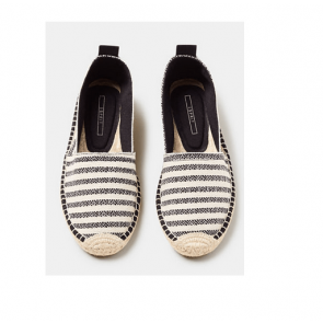 Esprit Espadrillos- Slippers i Black Str. 37