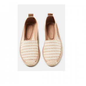 Esprit Espadrillos- Slippers i Dusty Nude Str. 37