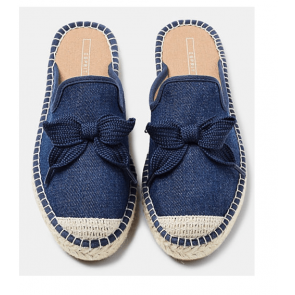 Esprit Espandrillos-Slippers I Denim Navy Str. 40