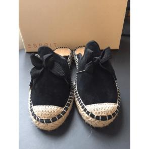 Esprit Espandrillos-Slippers I Denim Black Str. 37